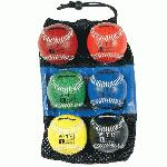 Markwort Set of 6 Weighted Baseballs Synthetic Cover : Build your arm strength with this set of weighted baseballs. Complete set of 6 weighted baseballs. One each 7 oz, 8 oz, 9 oz, 10 oz, 11 oz, 12 oz.