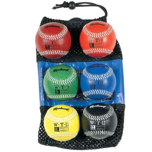 markwort-set-of-6-weighted-baseballs-synthetic-cover WTS-SET  New Markwort Set of 6 Weighted Baseballs Synthetic Cover  Build your