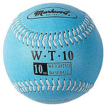 markwort-weighted-9-leather-covered-training-baseball-10-oz WT-MARKWORT-10 OZ  New Markwort Weighted 9 Leather Covered Training Baseball 10 OZ  Build