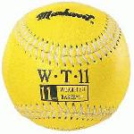 Markwort Weighted 9 Leather Covered Training Baseball (11 OZ) : Build your arm strength with Markwort training weighted baseballs. As you train gradually increase the weight of the ball as you build strength in your throwing arm. Color coded cover indicates the ball weight. Weighted baseballs are 9 inch circumference with varying weights. Leather cover, white stitching. Weighted core. Size of regulation baseballs are 9 and 5 oz.
