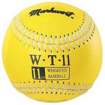 markwort-weighted-9-leather-covered-training-baseball-11-oz WT-MARKWORT-11 OZ  New Markwort Weighted 9 Leather Covered Training Baseball 11 OZ  Build