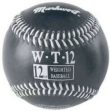 markwort-weighted-9-leather-covered-training-baseball-12-oz WT-MARKWORT-12 OZ  New Markwort Weighted 9 Leather Covered Training Baseball 12 OZ  Build