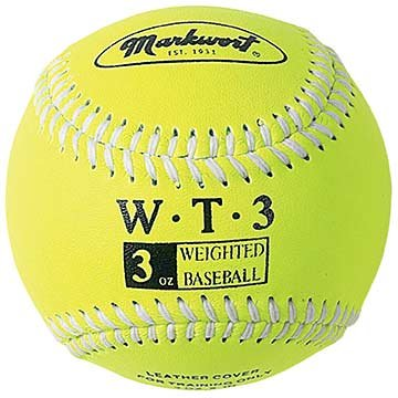 markwort-weighted-9-leather-covered-training-baseball-3-oz WT-MARKWORT-3 OZ  New Markwort Weighted 9 Leather Covered Training Baseball 3 OZ  Build