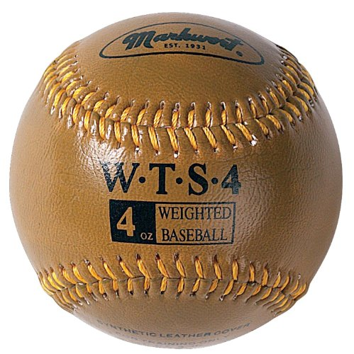 markwort-weighted-9-leather-covered-training-baseball-4-oz WT-MARKWORT-4 OZ  New Markwort Weighted 9 Leather Covered Training Baseball 4 OZ  Build