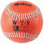 Markwort Weighted 9 Leather Covered Training Baseball (8 OZ) : Build your arm strength with Markwort training weighted baseballs. As you train gradually increase the weight of the ball as you build strength in your throwing arm. Color coded cover indicates the ball weight. Weighted baseballs are 9 inch circumference with varying weights. Leather cover, white stitching. Weighted core. Size of regulation baseballs are 9 and 5 oz.