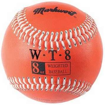markwort-weighted-9-leather-covered-training-baseball-8-oz WT-MARKWORT-8 OZ  New Markwort Weighted 9 Leather Covered Training Baseball 8 OZ  Build