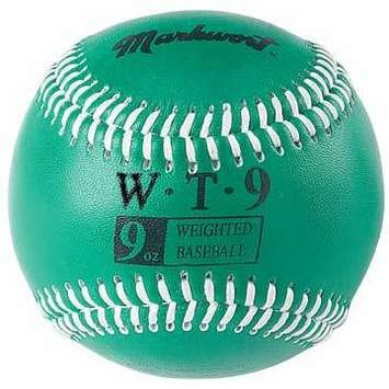markwort-weighted-9-leather-covered-training-baseball-9-oz WT-MARKWORT-9 OZ  New Markwort Weighted 9 Leather Covered Training Baseball 9 OZ  Build