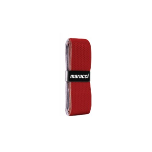 marucci-1-mm-grip-red M100-RED Marucci 840058751840 <h1 class=productView-title-lower>1.00MM BAT GRIP</h1> Maruccis advanced polymer bat grip technology maximizes