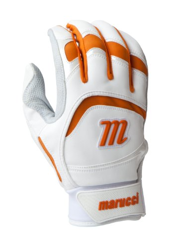 marucci-2014-adult-batting-gloves-white-xxl MPBG13-WhiteXXL Marucci New Marucci 2014 Adult Batting Gloves White XXL  Based in Baton