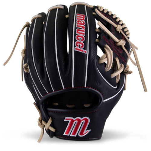 marucci-acadia-m-type-baseball-glove-41a2-11-00-i-web-right-hand-throw MFGACM41A2-BKCM-RightHandThrow Marucci 840058746464 <em>M Type</em>fit system provides integrated thumb and pinky sleeves with enhanced