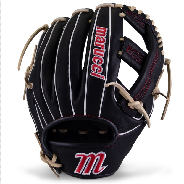 marucci-acadia-m-type-baseball-glove-42a2-11-25-i-web-right-hand-throw MFGACM42A2-BKCM-RightHandThrow Marucci 840058746488 <em>M Type</em>fit system provides integrated thumb and pinky sleeves with enhanced