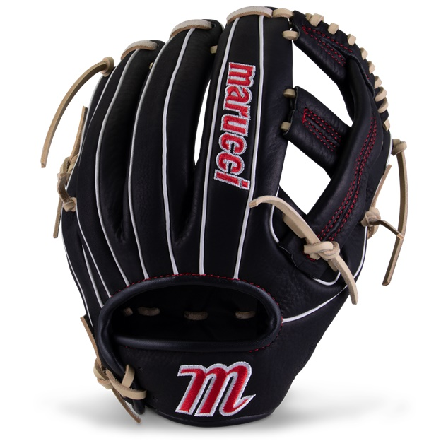 marucci-acadia-m-type-baseball-glove-43a4-11-50-single-post-right-hand-throw MFGACM43A4-BKCM-RightHandThrow Marucci 840058746501 <em>M Type</em>fit system provides integrated thumb and pinky sleeves with enhanced