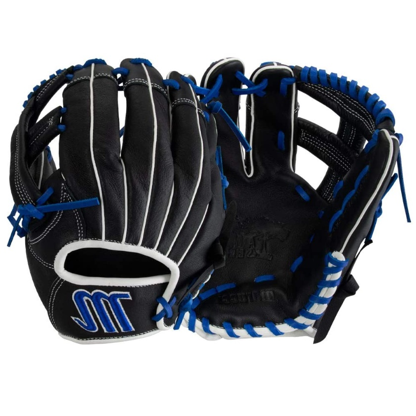 marucci-acadia-series-baseball-glove-11-5-left-hand-throw MFGAC115Y-BKRB-LeftHandThrow  849817099735 Full leather shell provides strength while padded palm lining reduces weight