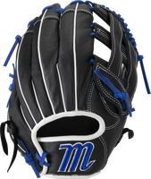 Full leather shell provides strength while padded palm lining reduces weight Reinforced finger tops protect against fielding abrasion and increase structural longevity Narrow-fit hand opening and scaled-down pro patterns for an ideal fit Pro-grade rawhide laces add strength Designed for lightweight feel and increased fielding control.