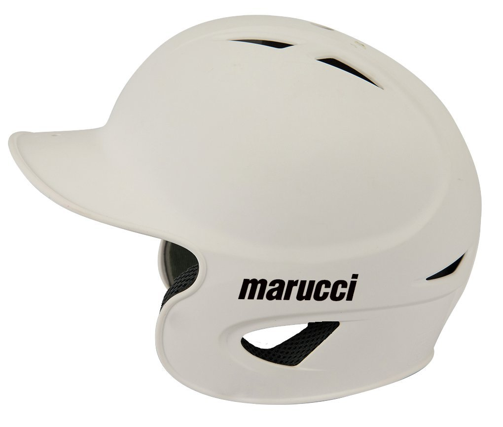 marucci-adult-si-80-high-speed-80-mph-batting-helmet-black-medium MHSI80-BlackMedium Marucci New Marucci Adult SI-80 High Speed 80 MPH Batting Helmet Black Medium
