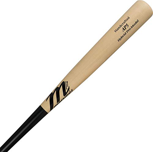 marucci-albert-pujols-hybrid-mhcbap5-bbcor-wood-baseball-bat-33-inch MHCBAP5-3330  849817078990 100% maple wood exterior with two-piece inner composite tube system AP5