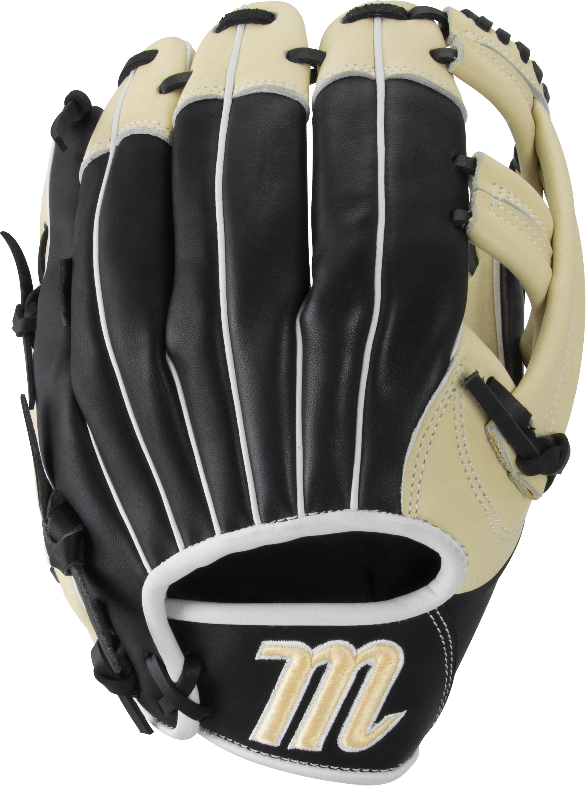 marucci-ascension-as1150y-baseball-glove-11-50-single-post-web-right-hand-throw MFGAS115Y-BKCM-RightHandThrow Marucci 849817099568 Tight-grain steerhide shell leather and palm lining increases durability while reducing