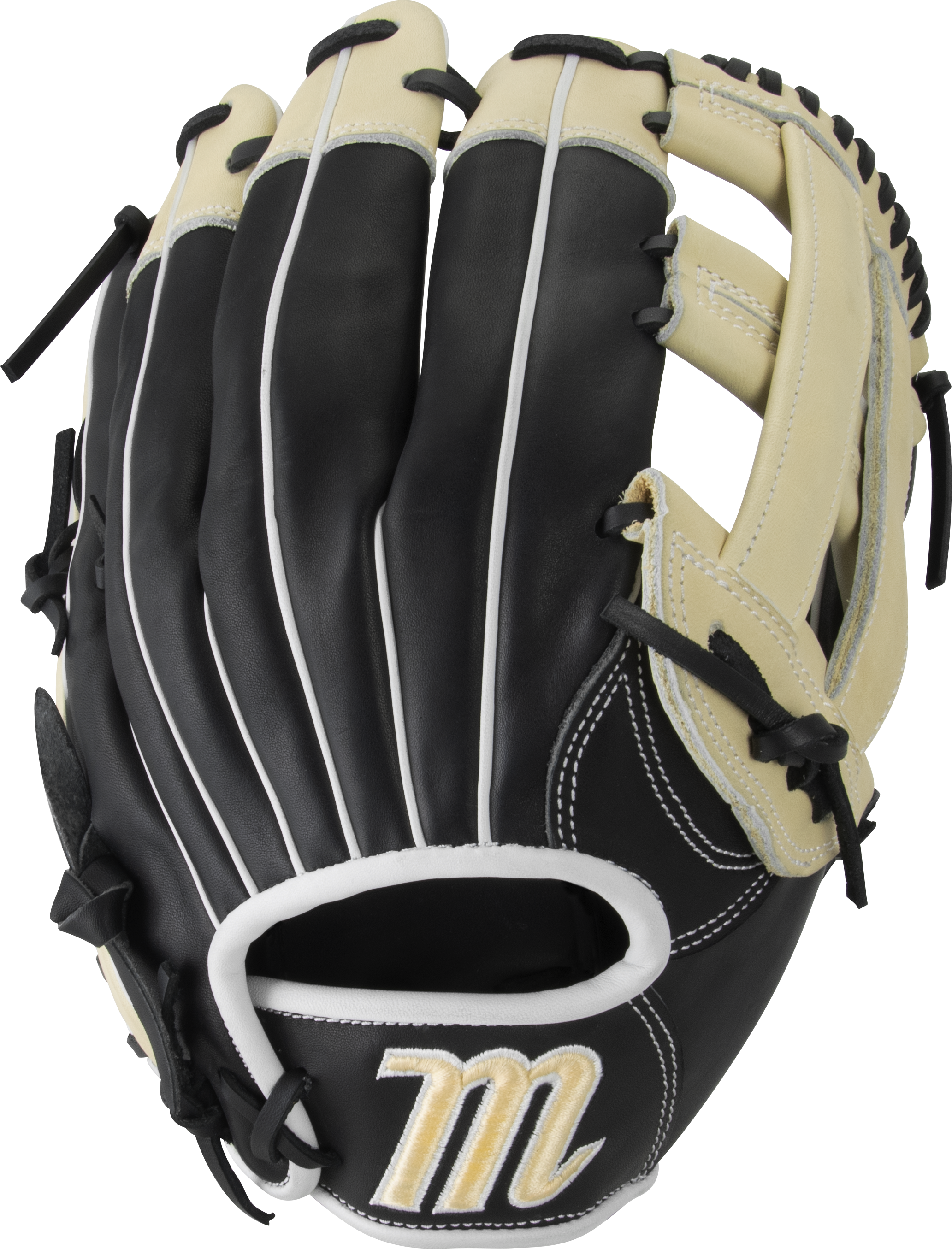 marucci-ascension-as125y-baseball-glove-12-5-h-web-right-hand-throw MFGAS125Y-BKCM-RightHandThrow Marucci 849817099582 Tight-grain steerhide shell leather and palm lining increases durability while reducing