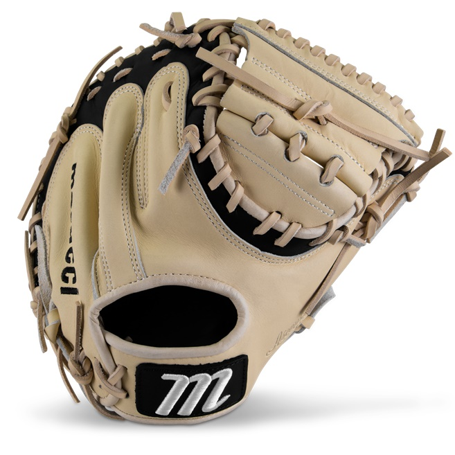 marucci-ascension-m-type-catchers-mitt-225c1-32-50-right-hand-throw MFGASM2Y-CM-RighHandThrow Marucci 840058746631 <em>M Type</em>fit system provides integrated thumb and pinky sleeves with enhanced
