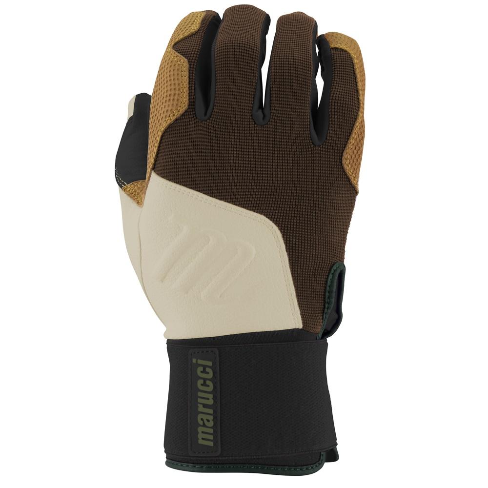 marucci-blacksmith-full-wrap-batting-gloves-brown-tan-adult-medium MBGBKSMFW-BRTN-AM Marucci 840058749144 <h1 class=productView-title-lower>BLACKSMITH BATTING GLOVES</h1> Your game is a craft built through