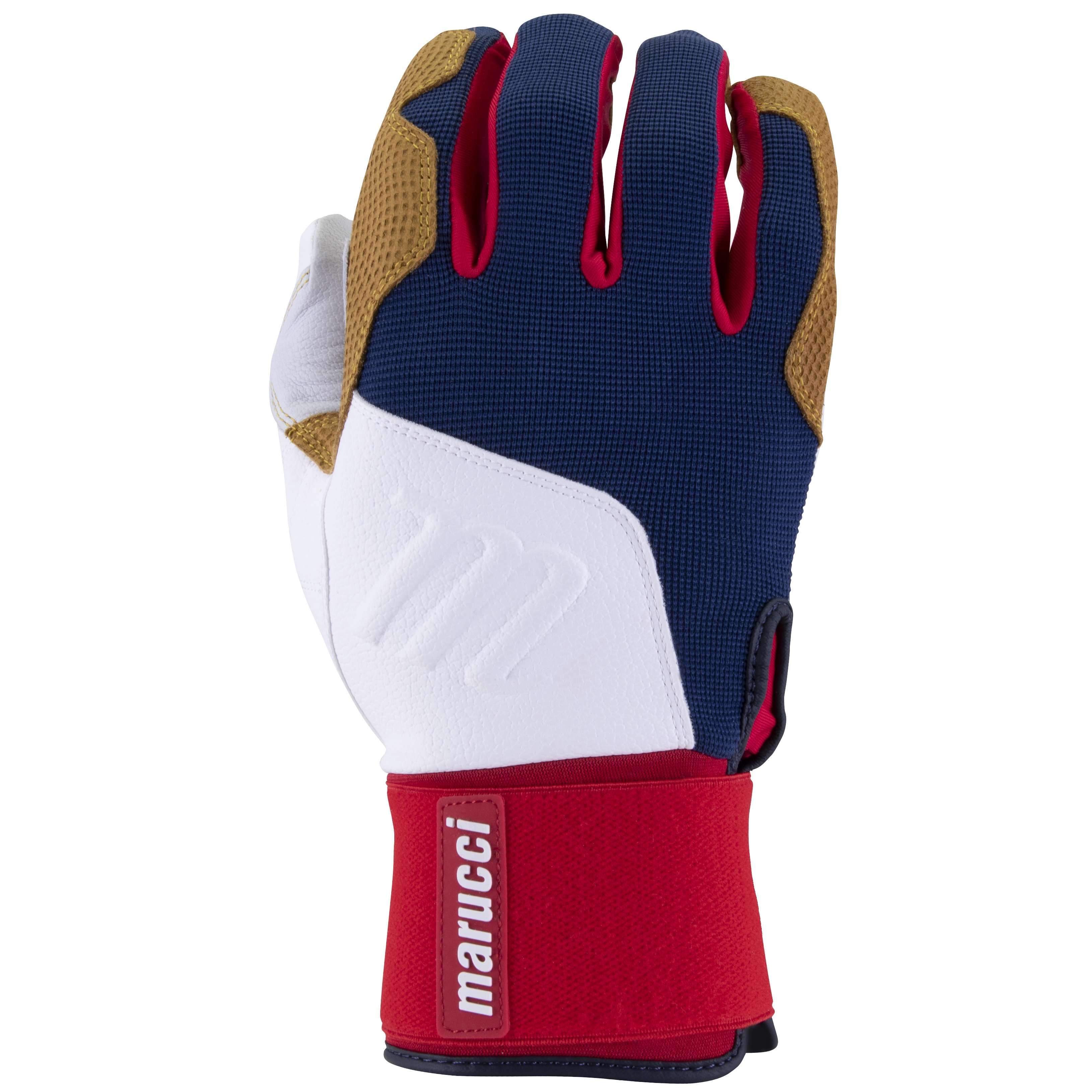 marucci-blacksmith-full-wrap-batting-gloves-usa-adult-small MBGBKSMFW-USA-AS Marucci 840058749205 <h1 class=productView-title-lower>BLACKSMITH BATTING GLOVES</h1> Your game is a craft built through