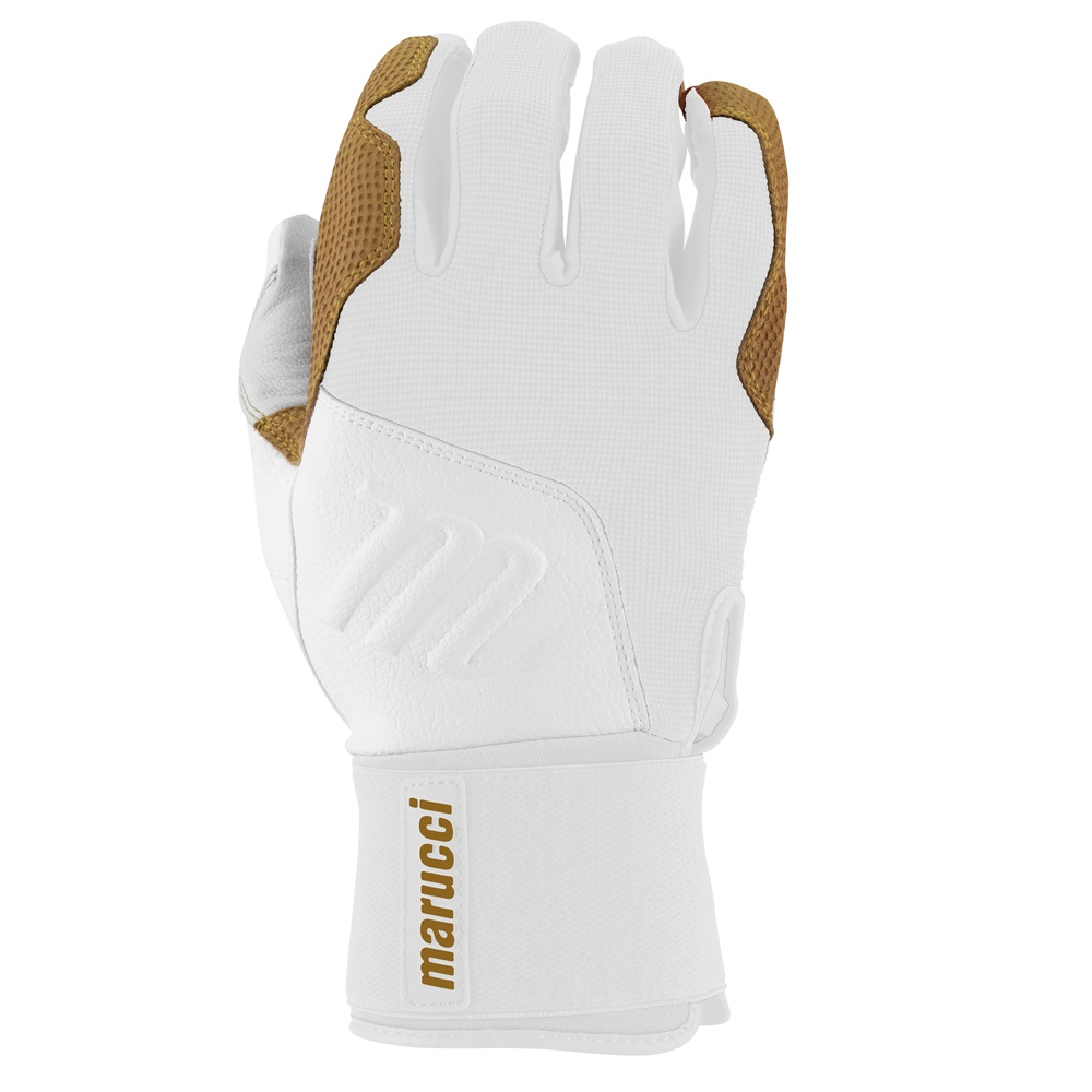 marucci-blacksmith-full-wrap-batting-gloves-white-white-adult-large MBGBKSMFW-WW-AL Marucci 840058745702 <h1 class=productView-title-lower>BLACKSMITH BATTING GLOVES</h1> Your game is a craft built through