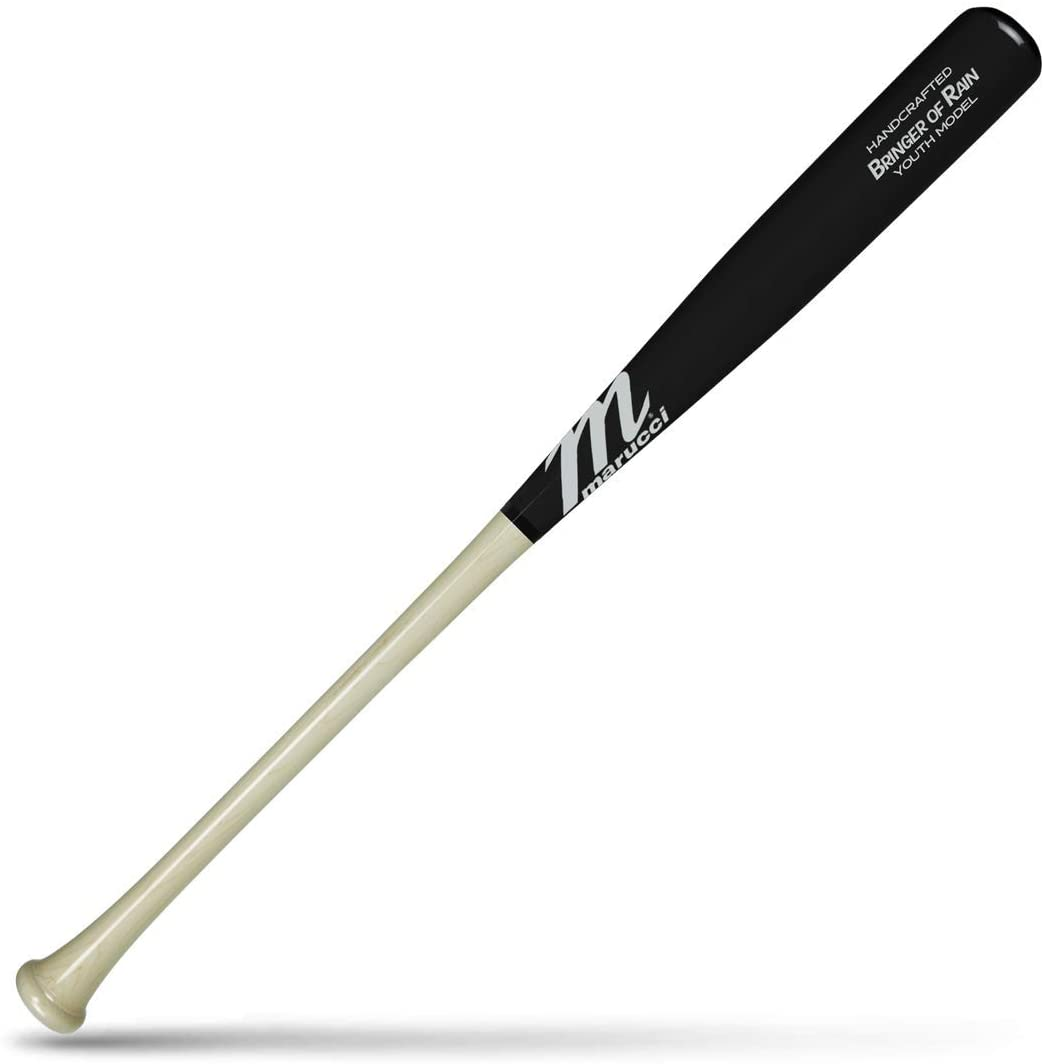 marucci-bringer-of-rain-youth-maple-wood-baseball-bat-30-inch MYVE2BOR-NBK-30 Marucci  Mariucci Sports - Bringer Of Rain Youth - Model MYVE2BOR-N/BK-30 Baseball