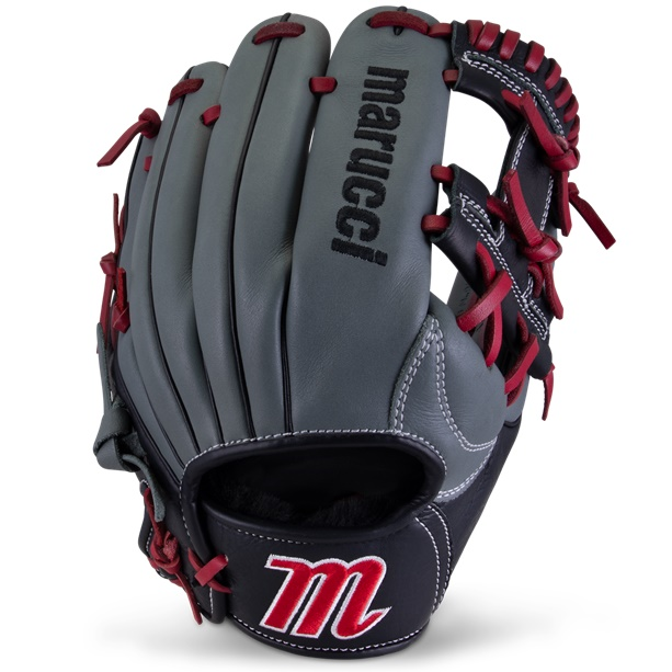marucci-caddo-youth-baseball-glove-11-5-inch-i-web-right-hand-throw MFGCADD1150-GYR-RH Marucci 840058746891 <em>S Type</em>fit provides a traditional hand stall with adjustable thumb and