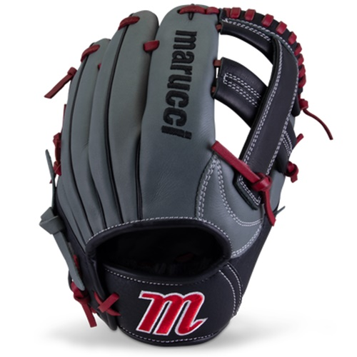 marucci-caddo-youth-baseball-glove-11-inch-single-post-right-hand-throw MFGCADD1100-GYR-RH Marucci 840058746877 <em>S Type</em>fit provides a traditional hand stall with adjustable thumb and