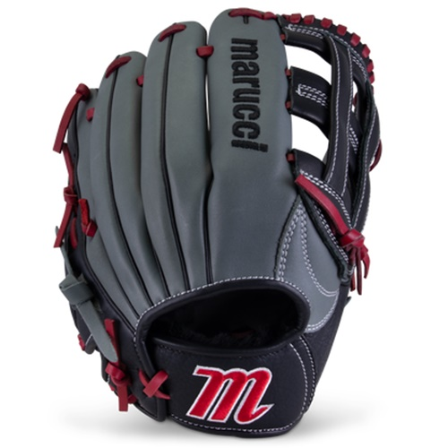 marucci-caddo-youth-baseball-glove-12-inch-h-web-right-hand-throw MFGCADD1200-GYR-RH Marucci 840058746914 <em>S Type</em>fit provides a traditional hand stall with adjustable thumb and