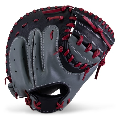 marucci-caddo-youth-catchers-mitt-31-inch-right-hand-throw MFGCADD3100-GYR-RH Marucci 840058746938 <em>S Type</em>fit provides a traditional hand stall with adjustable thumb and