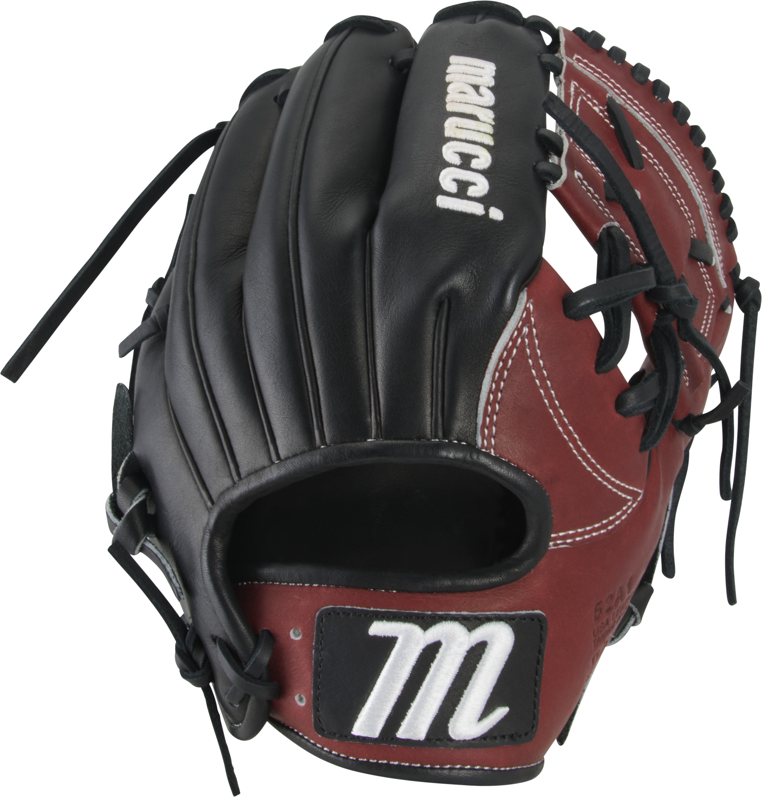 marucci-capitol-11-25-baseball-glove-52ai-one-piece-web-right-hand-throw MFGCP52A1-WNBK-RightHandThrow Marucci  849817099186  Premium Japanese-tanned USA Kip leather combines ideal stiffness with lightweight feel