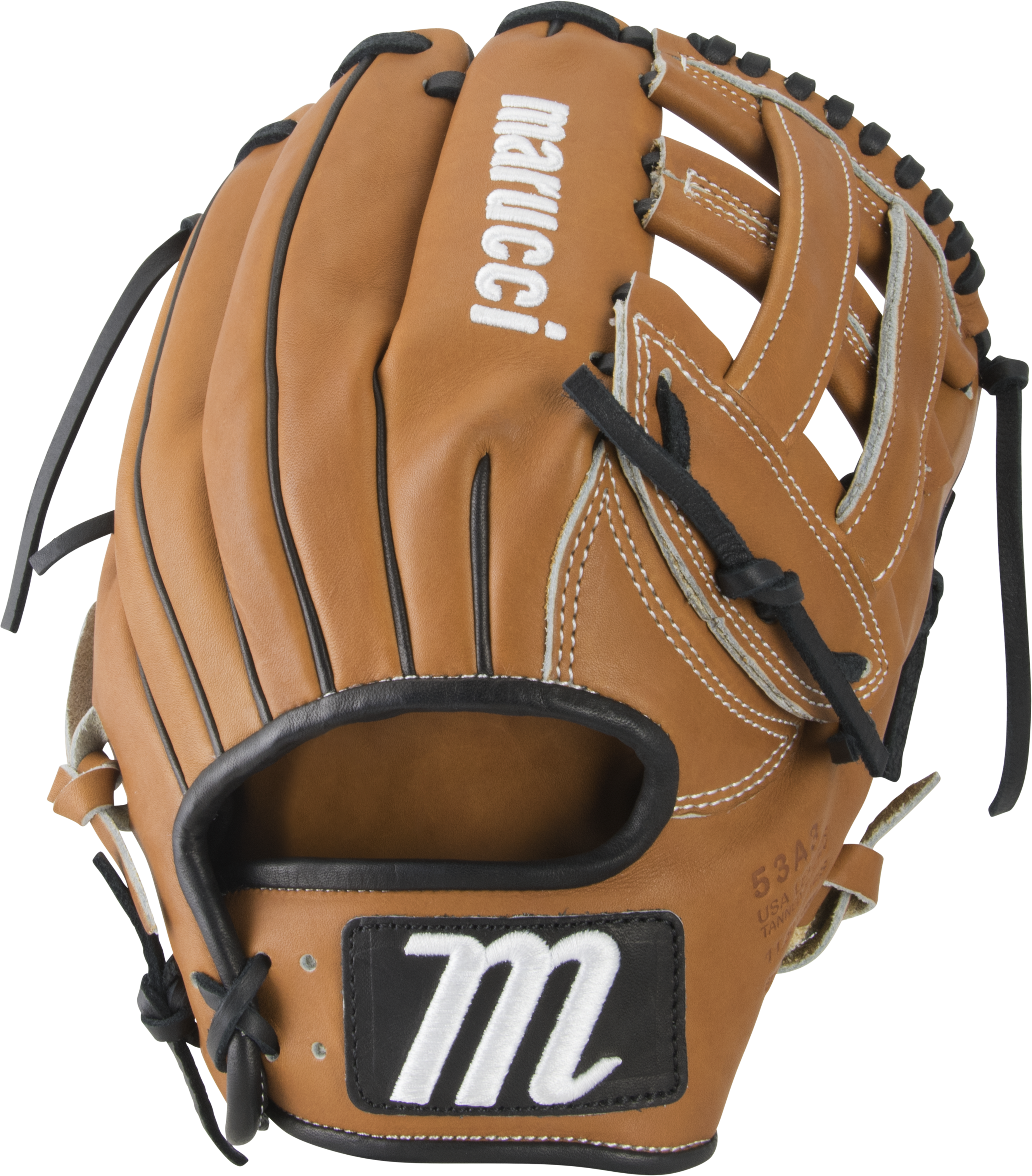 marucci-capitol-11-5-baseball-glove-53a3-h-web-right-hand-throw MFGCP53A3-TFBK-RightHandThrow   849817099209 Premium Japanese-tanned USA Kip leather combines ideal stiffness with lightweight feel