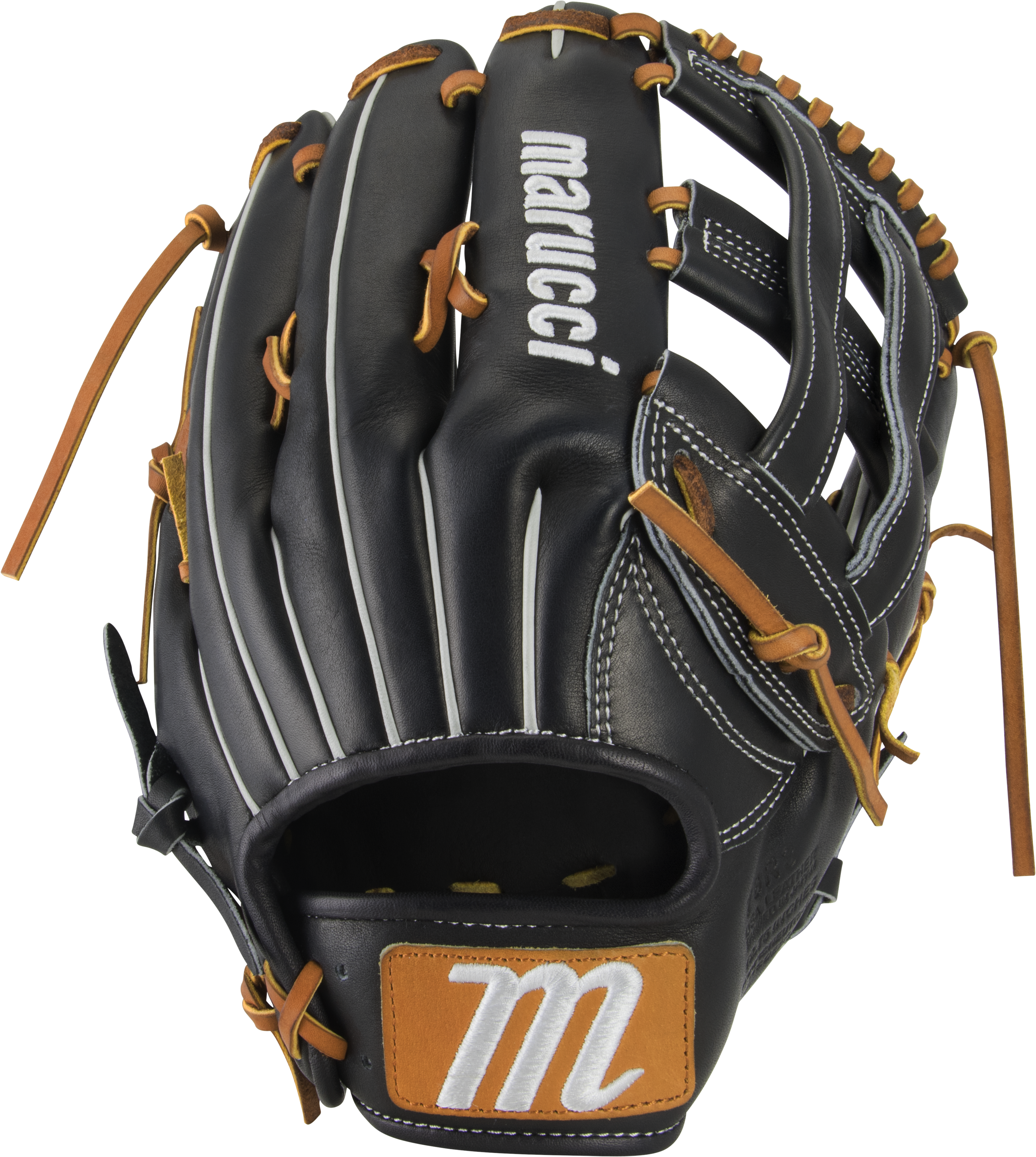 marucci-capitol-12-75-baseball-glove-78r3-h-web-right-hand-throw MFGCP78R3-BKTF-RightHandThrow Marucci  849817099285 Premium Japanese-tanned USA Kip leather combines ideal stiffness with lightweight feel