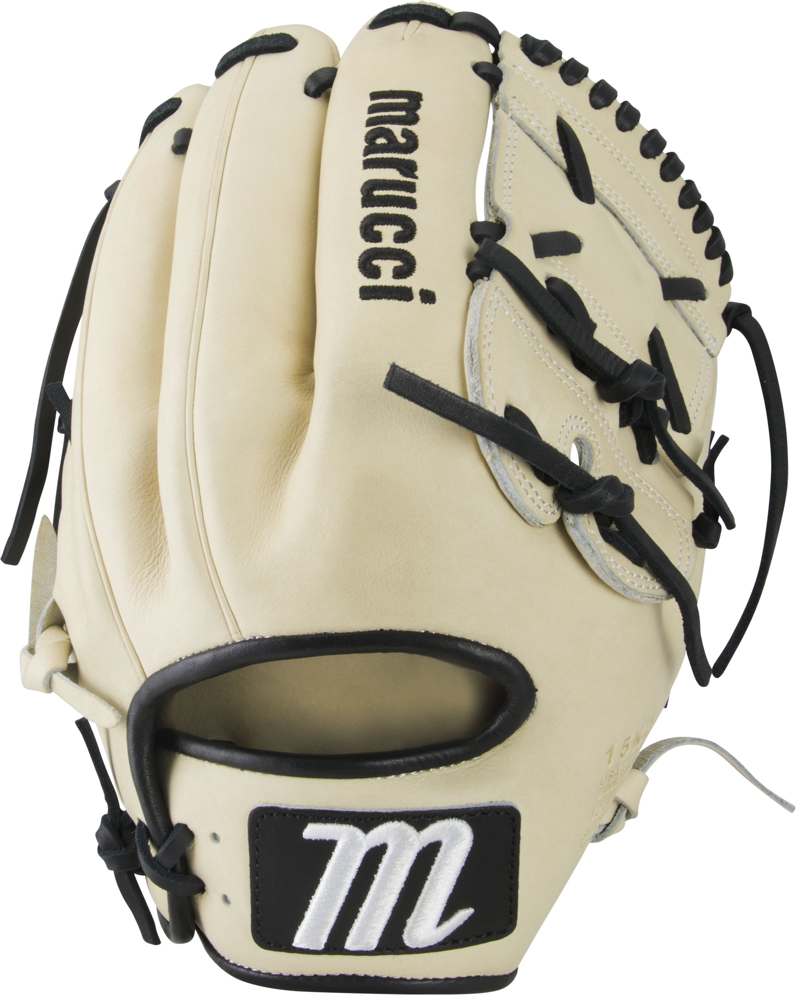 marucci-capitol-12-baseball-glove-15k2-two-piece-solid-web-right-hand-throw MFGCP15K2-CMBK-RightHandThrow Marucci  849817099261 Premium Japanese-tanned USA Kip leather combines ideal stiffness with lightweight feel