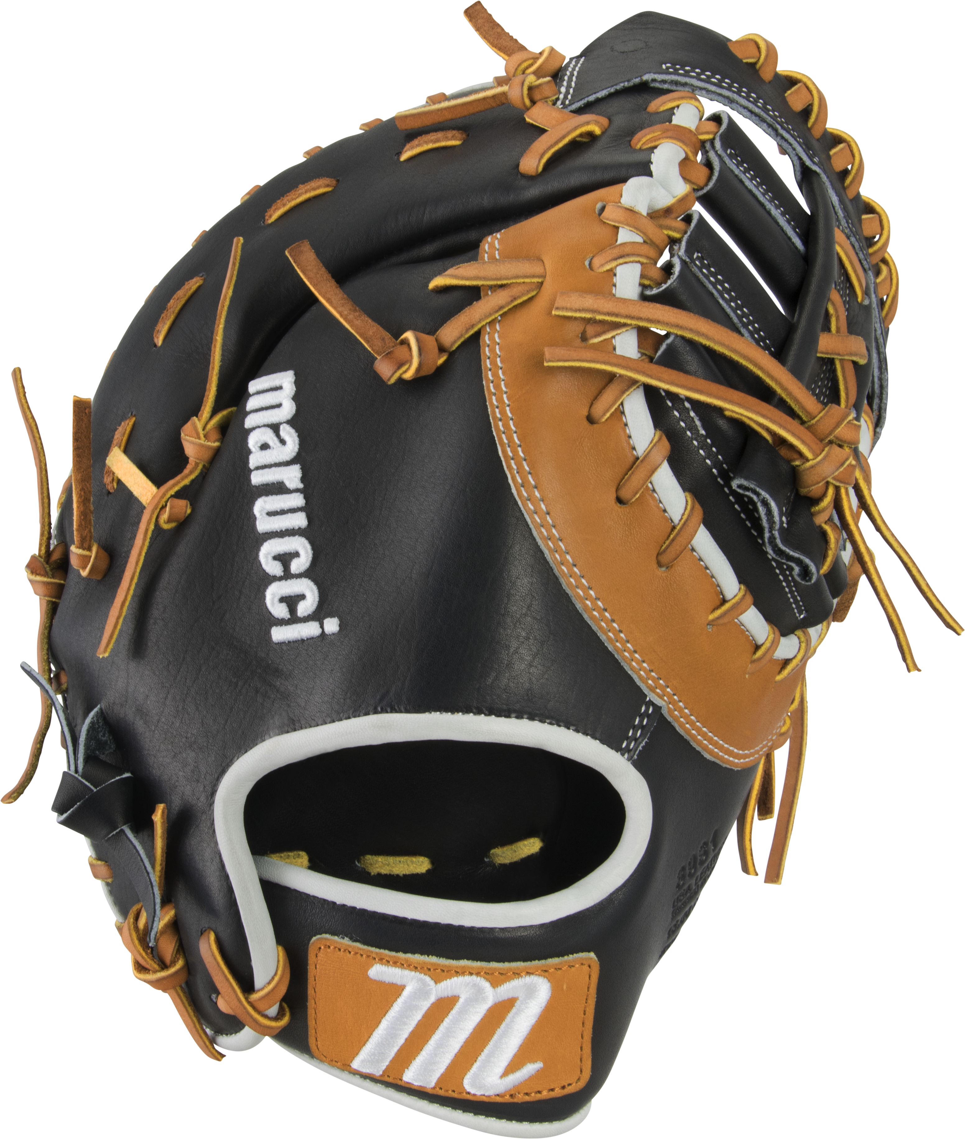 marucci-capitol-13-first-base-mitt-baseball-glove-39si-two-bar-post-web-right-hand-throw MFGCP39S1-BKTF-RightHandThrow   849817099322 Premium Japanese-tanned USA Kip leather combines ideal stiffness with lightweight feel