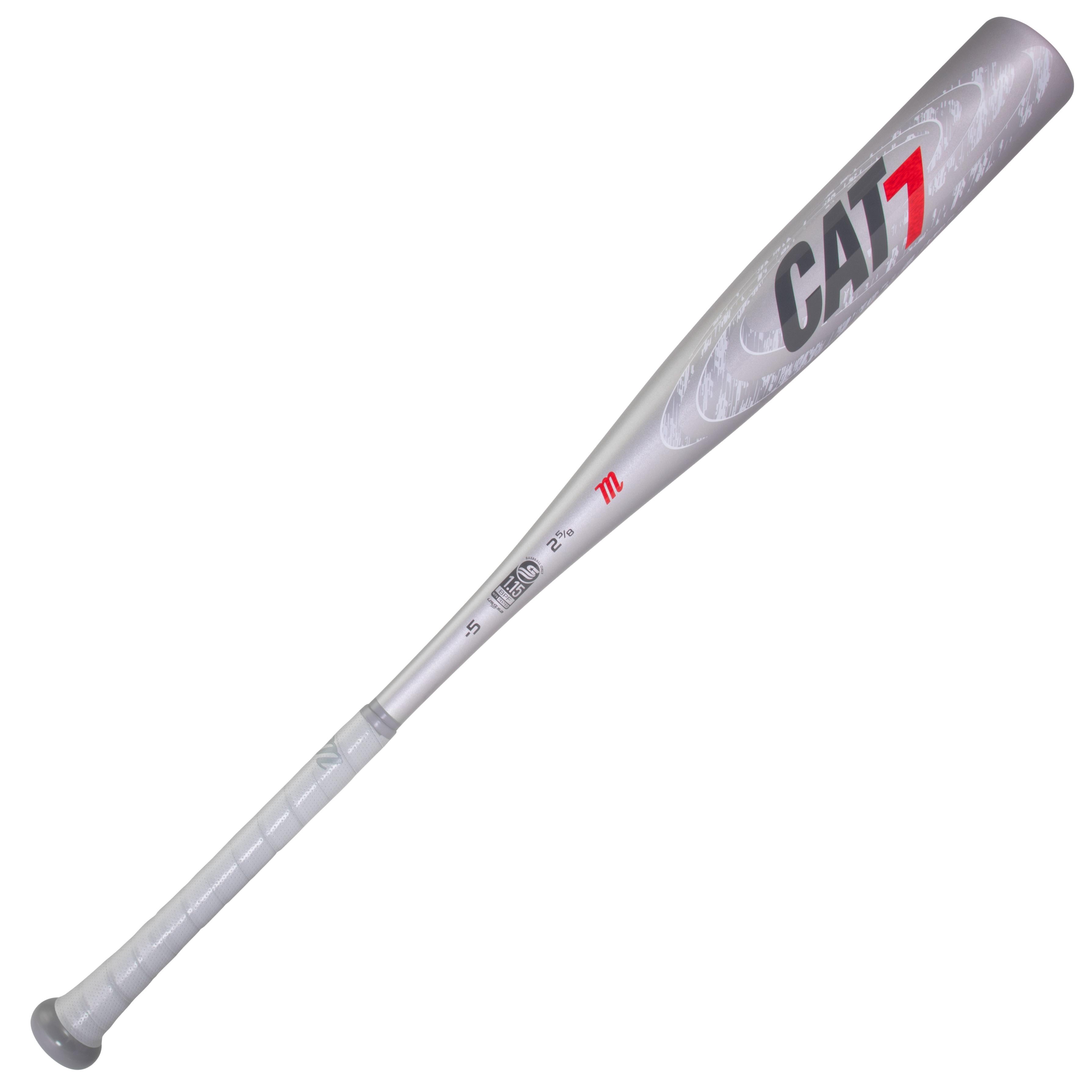 marucci-cat7-silver-5-baseball-bat-32-inch-27-oz MSBC725S-3227 Marucci