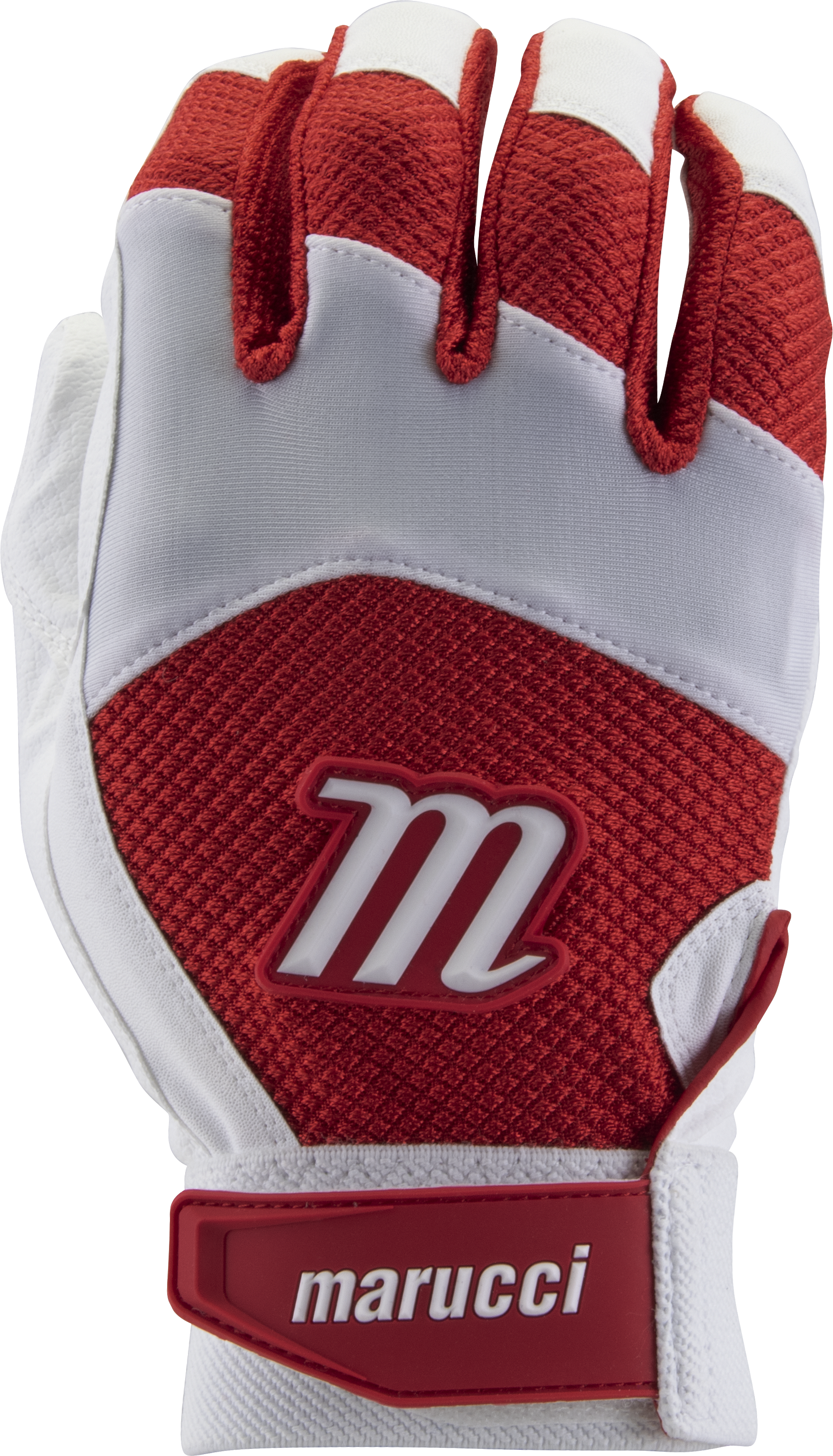 marucci-code-adult-batting-gloves-1-pair-white-red-adult-medium MBGCD-WR-AM  849817096079 2019 Model MBGCD Consistency And Craftsmanship Commitment To Quality And Understanding