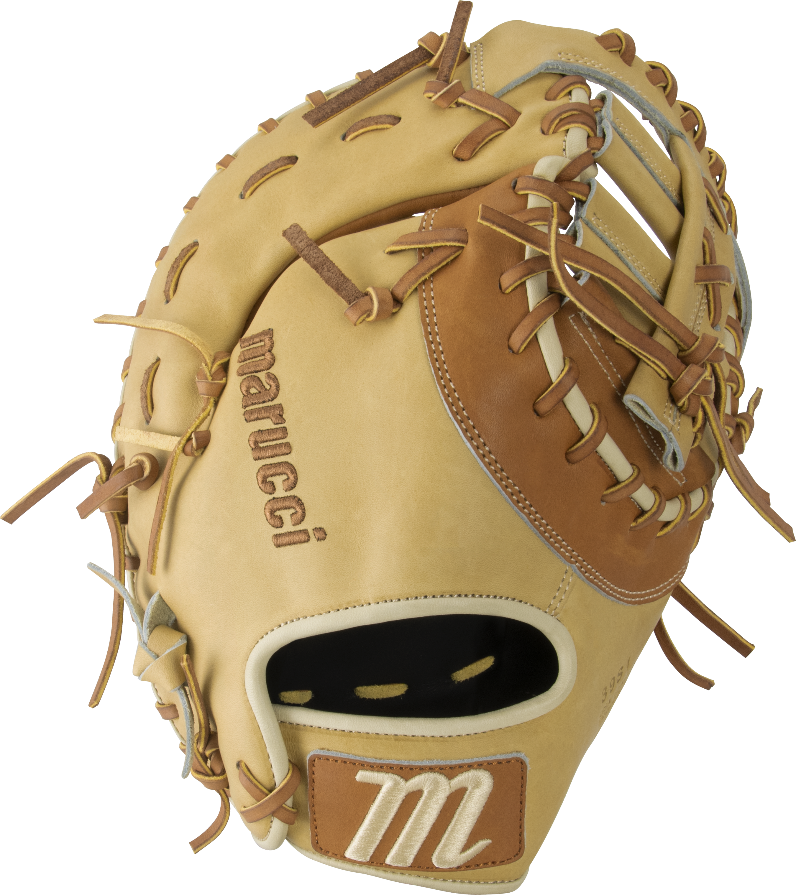 marucci-cypress-13-baseball-glove-39s1-first-base-mitt-post-web-right-hand-throw MFGCY39S1-SMTF-RightHandThrow Marucci  849817099438 • Premium Japanese-tanned steerhide leather provides stiffness and rugged durability •