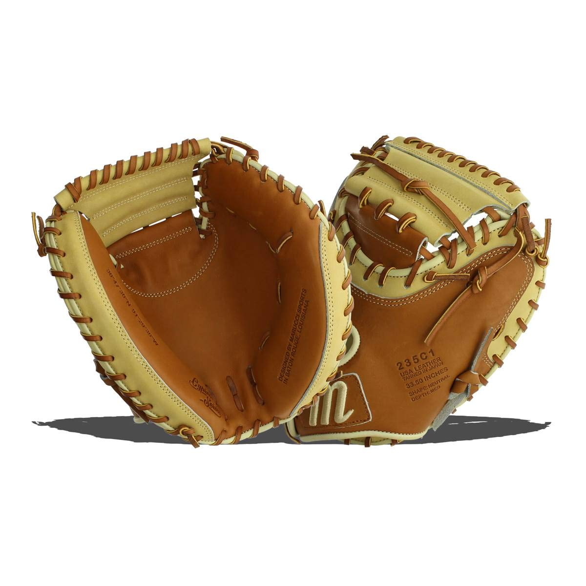 marucci-cypress-catchers-mitt-33-5-baseball-glove-235c1-right-hand-throw MFGCY235C1-SMTF-RightHandThrow Marucci 849817099452 <p>33.50 Inch Glove Pattern Arrives Stiff For Custom Break-In Conventional Open