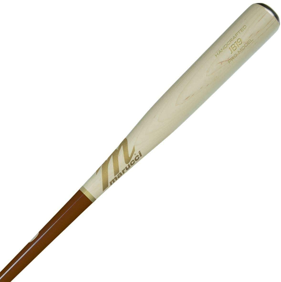 marucci-jose-bautista-maple-wood-baseball-bat-33-inch MVE2JB19-WTWW-33 Marucci  Marucci Sports - Jose Bautista Pro Model - Walnut/Whitewash MVE2JB19-WT/WW-33 Baseball