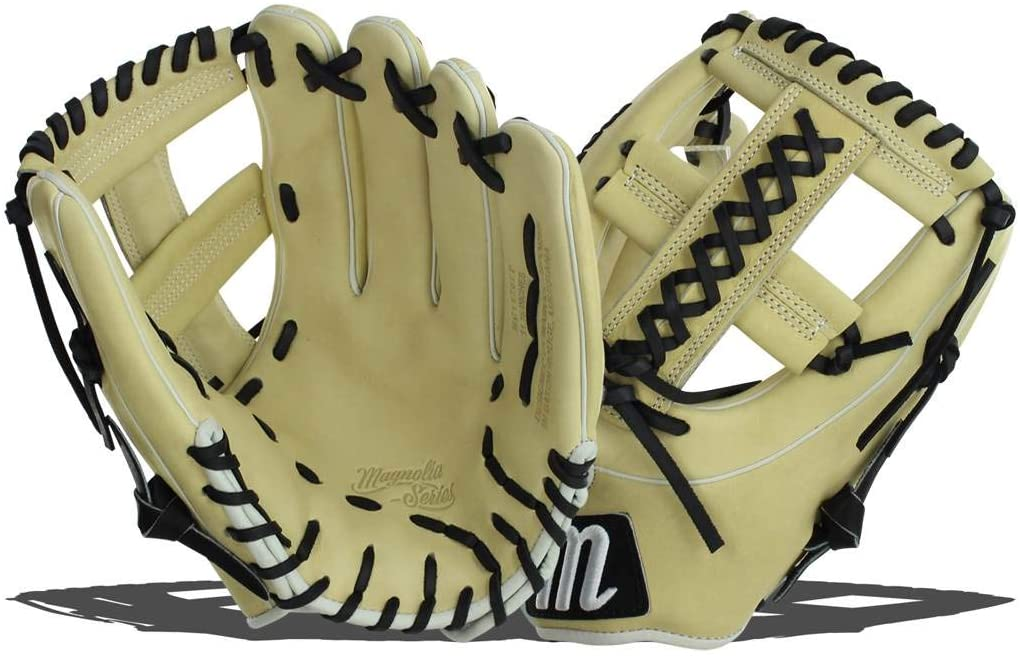 marucci-magnolia-series-11-75-fastpitch-softball-glove-right-hand-throw MFGMG1175FP-CMBK-RightHandThrow   <p>11.75 Inch Softball Glove Cushioned Leather Finger Lining For Maximum Comfort