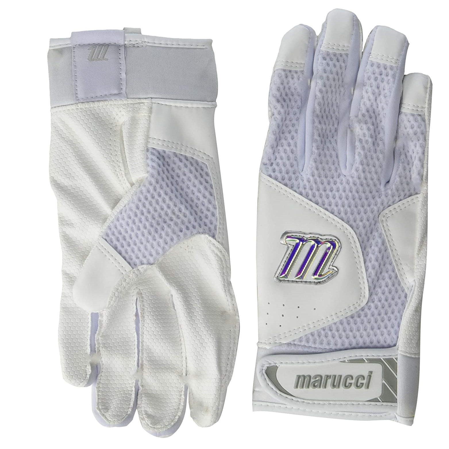 marucci-mbgqst2-w-w-as-quest-2-batting-gloves-white-adult-small MBGQST2-WW-AS Marucci  An evolution of Marucci's earlier batting glove line this year's Quest
