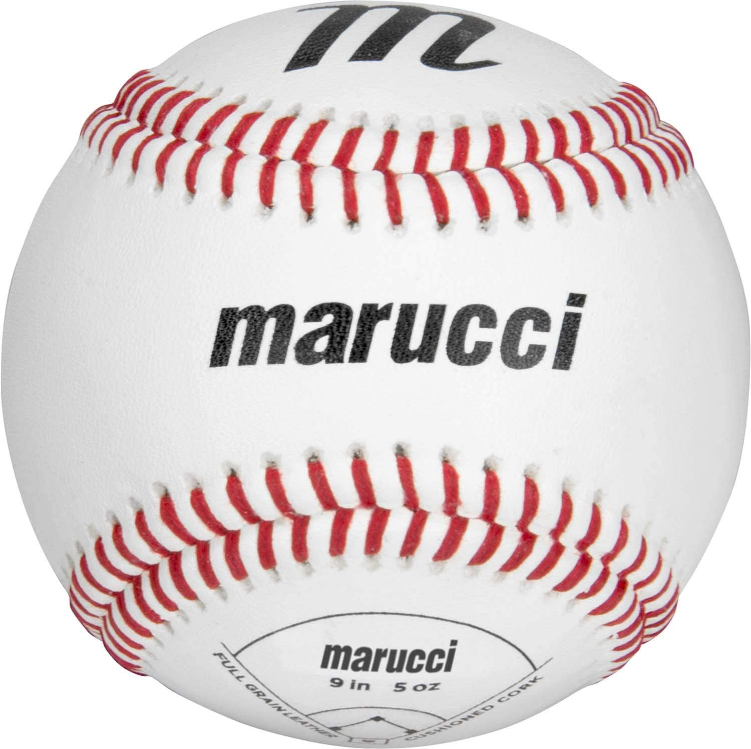Marucci sports, MOBBLPY9-12, one dozen Youth practice baseballs, as a company founded, majority-owned, and operated by current and former big Leaguers, Marucci is dedicated to quality and committed to providing players at every level with the tools they want and need to be successful. Based in baton Rouge, Louisiana, Marucci was founded by two former big Leaguers and their athletic trainer who began handcrafting bats for some of the best players in the game from their garage. Fast forward 10 years, and that dedication to quality and understanding of players needs has turned into an All-American success story. Today, Marucci is the new number one bat in the big leagues.