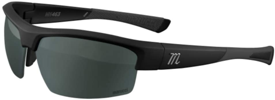 marucci-mv463-matte-black-green-with-charcoal-mirror-baseball-performance-sunglasses MSNV463-MB-BK Marucci  Mariucci Sports - As a company founded majority-owned and operated by