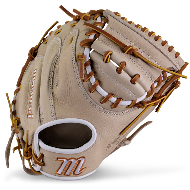 marucci-oxbow-m-type-catchers-mitt-235c1-33-5-solid-right-hand-throw MFGOXM235C1-CM-RightHandThrow Marucci 840058746853 <em>M Type</em>fit system provides integrated thumb and pinky sleeves with enhanced