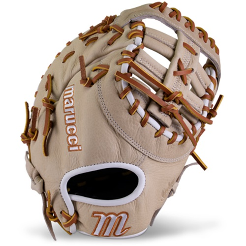 marucci-oxbow-m-type-first-base-mitt-38s1-12-75-double-post-right-hand-throw MFGOXM38S1-CM-RightHandThrow Marucci 840058746839 <em>M Type</em>fit system provides integrated thumb and pinky sleeves with enhanced
