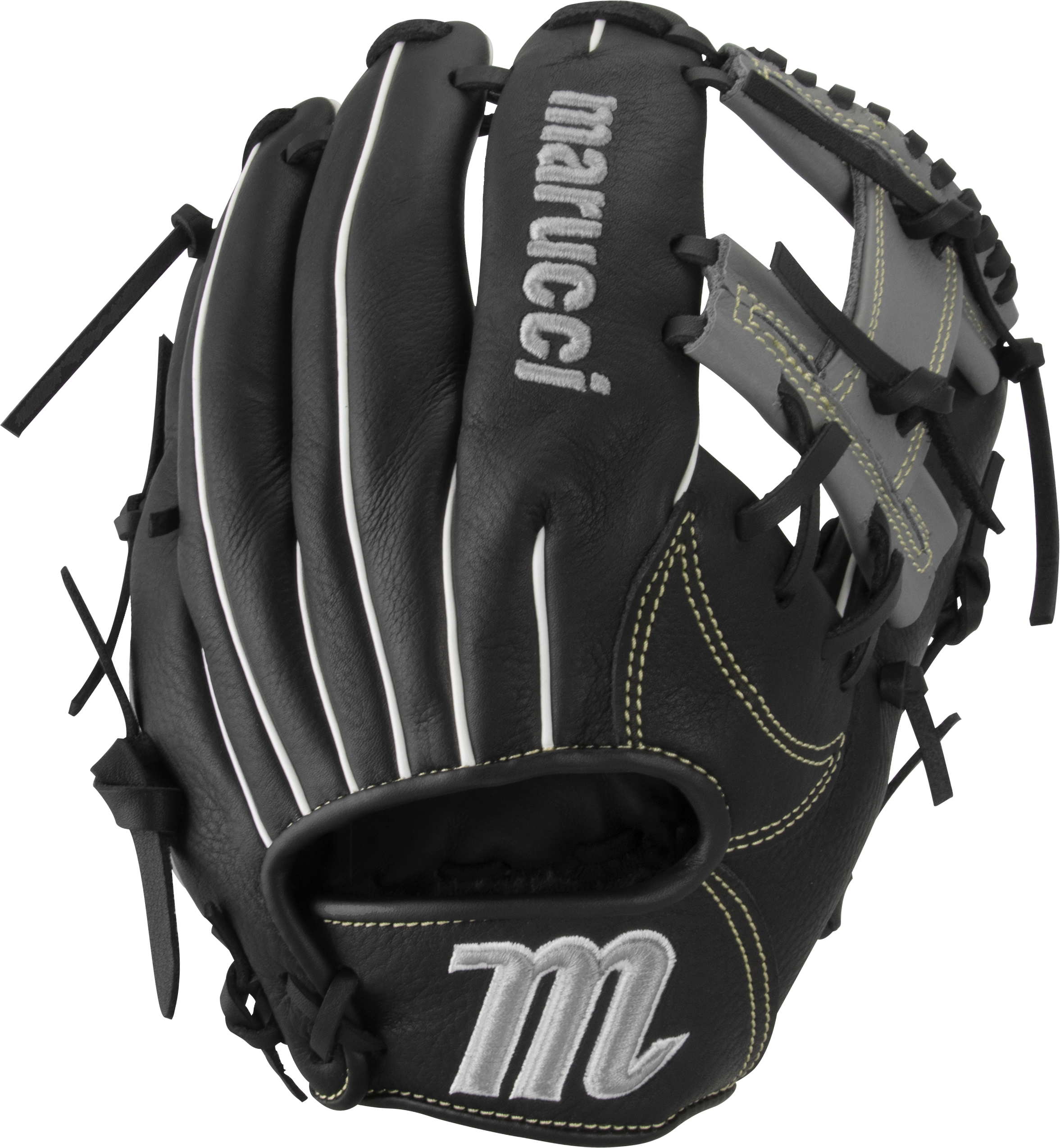 marucci-oxbow-ox115-baseball-glove-11-5-i-web-right-hand-throw MFGOX115-BKGY-RightHandThrow Marucci 849817099469 Full-grain cowhide leather shell Supple leather palm lining with added cushioning