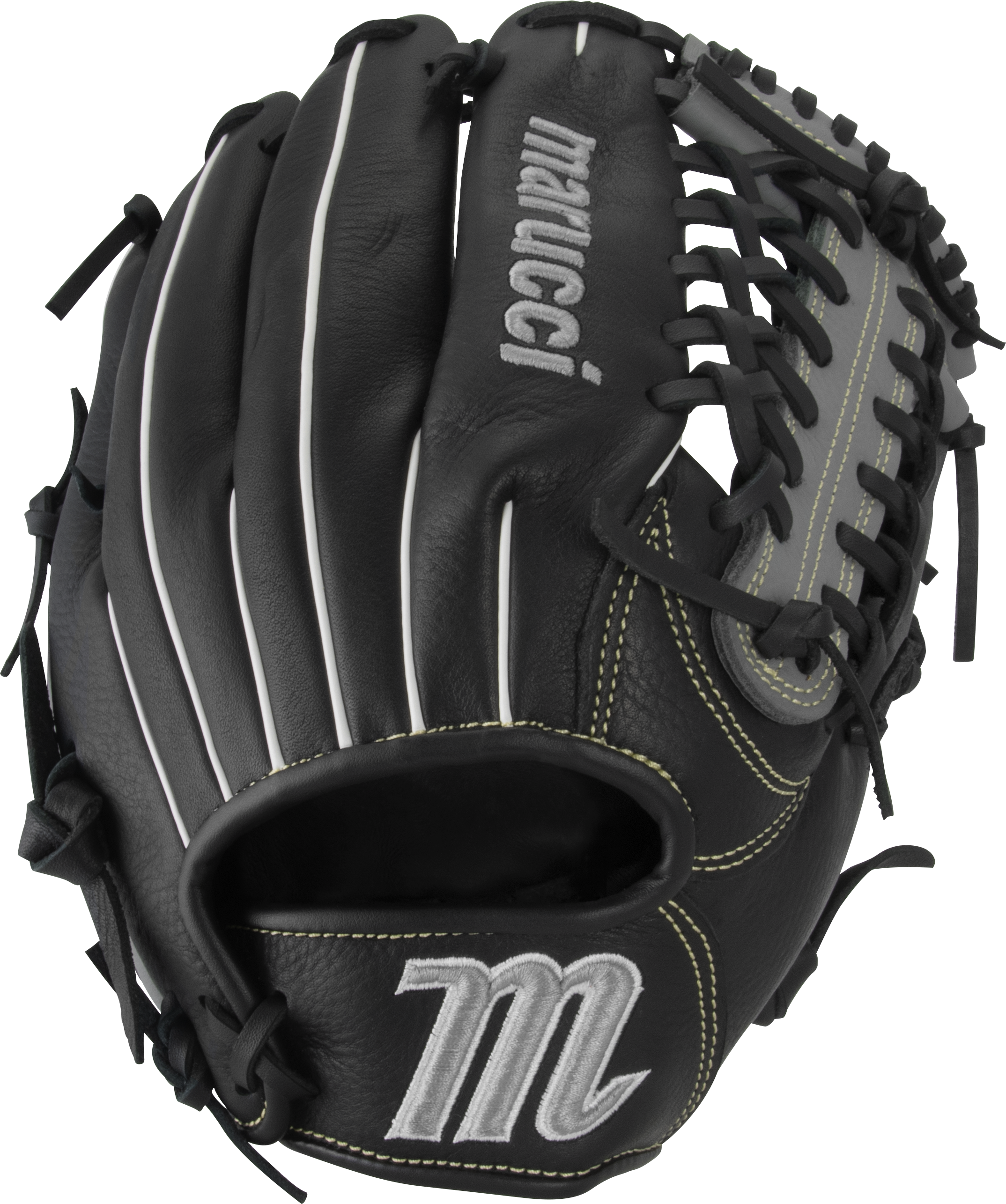 marucci-oxbow-ox1175-baseball-glove-11-75-trap-web-right-hand-throw MFGOX1175-BKGY-RightHandThrow Marucci 849817099476 Full-grain cowhide leather shell Supple leather palm lining with added cushioning