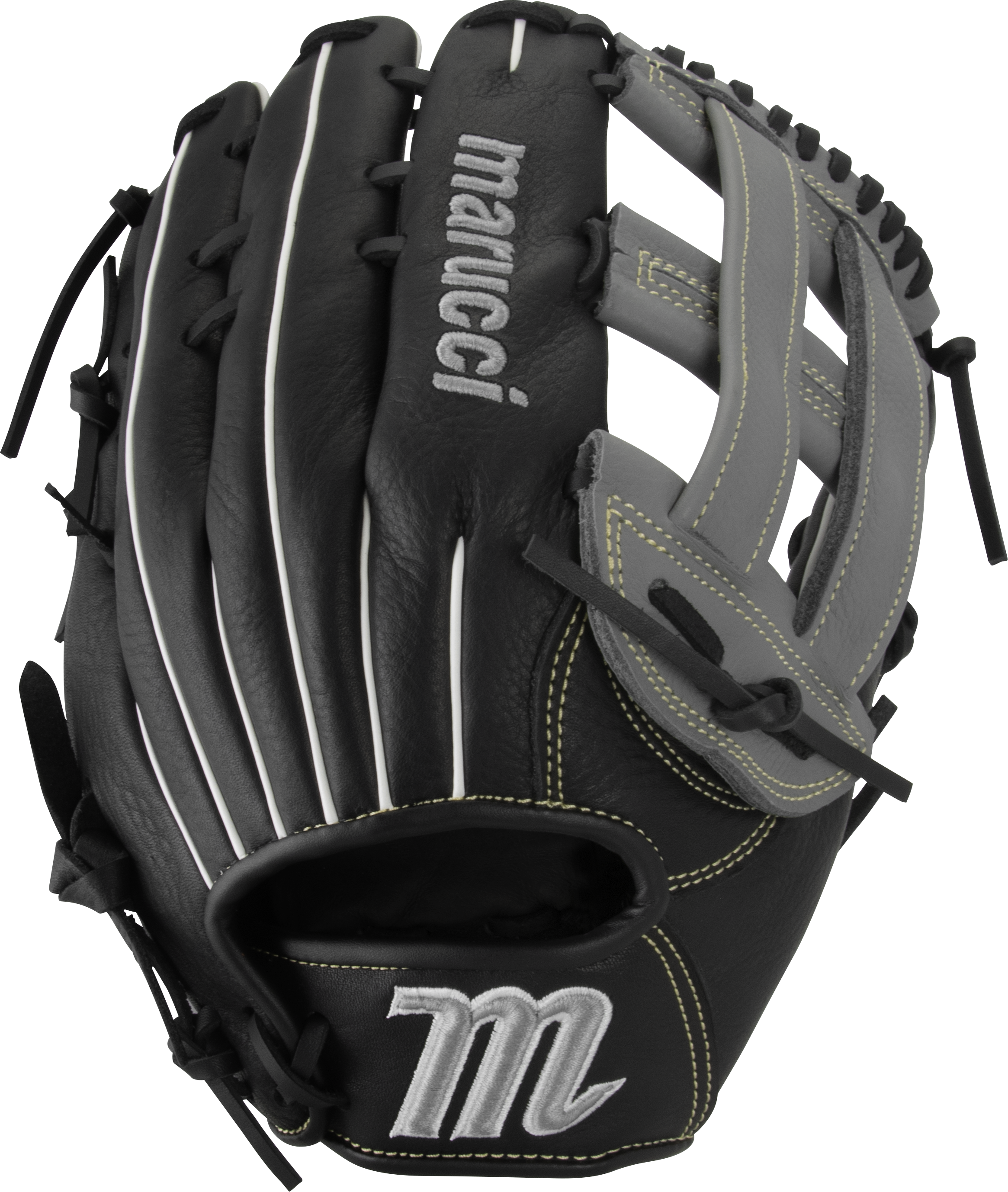 marucci-oxbow-ox1275-baseball-glove-12-75-h-web-right-hand-throw MFGOX1275-BKGY-RightHandThrow Marucci 849817099520 Full-grain cowhide leather shell Supple leather palm lining with added cushioning